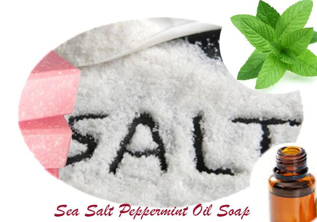Sea Salt-Peppermint-Soap