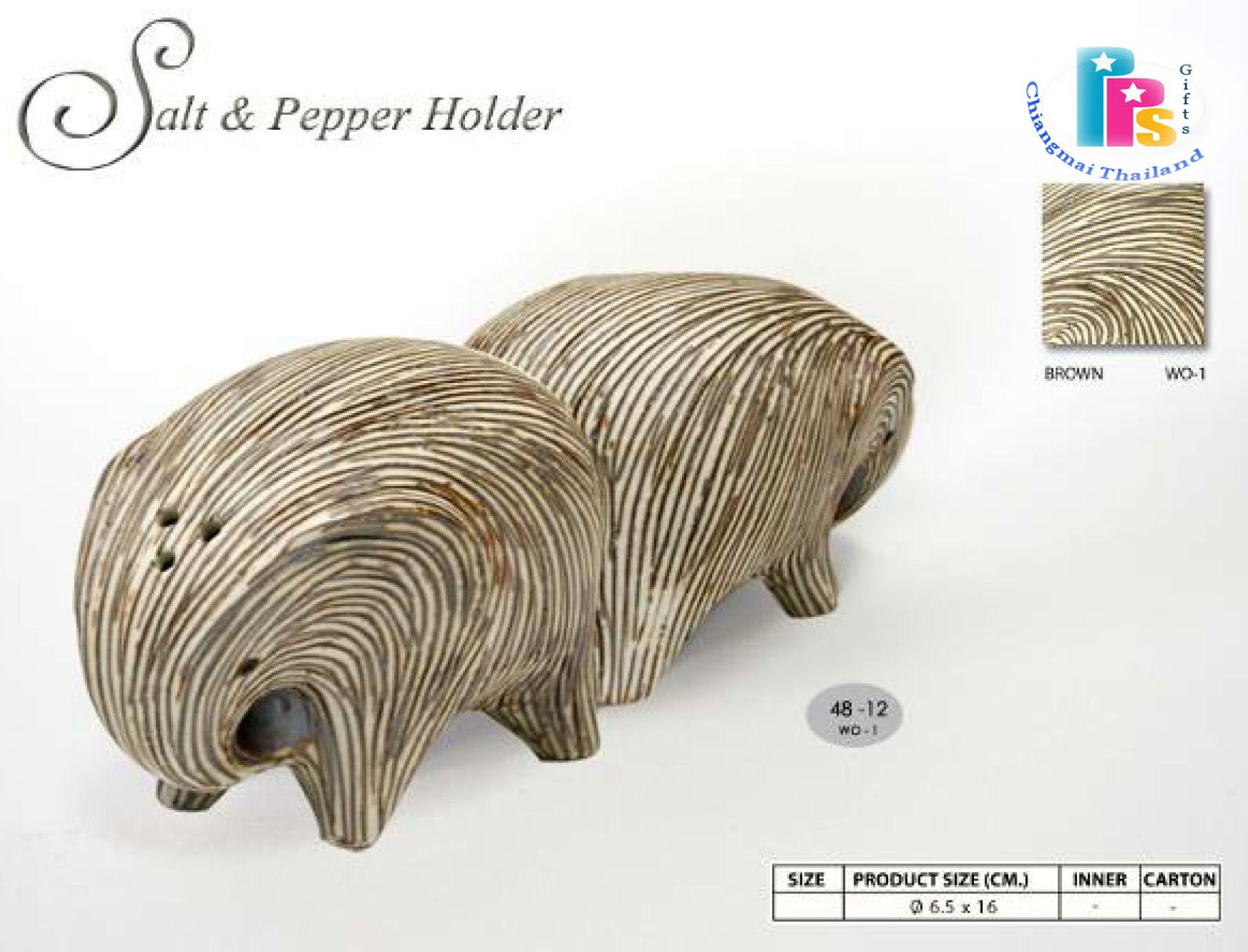 Elephant Pepper-Salt Shaker-6