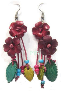 Leather Flower for Earring-e2