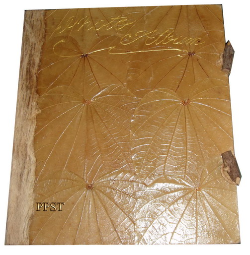 Notebook made of mulberry paper