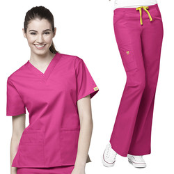 New Style Medical Scrubs Wholesale/nursing uniform Medical Uniform Scrubs cheap/OEM scrub suits tops