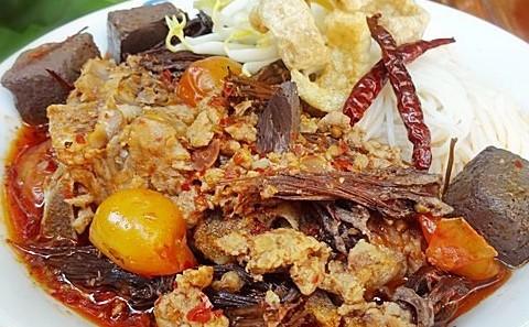 ขนมจีนน้ำเงี้ยว1-Khanom jean namngao