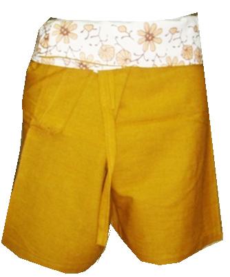 Short Cotton Pant