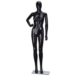 cheap cheap Full Body Mannequin chrome Female Wholesale Plastic Black female full body mannequin