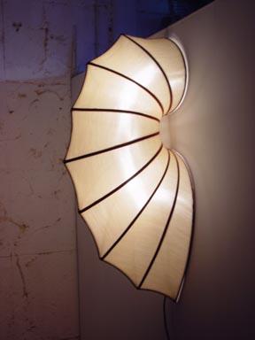 Silk Lamp worm shape medium