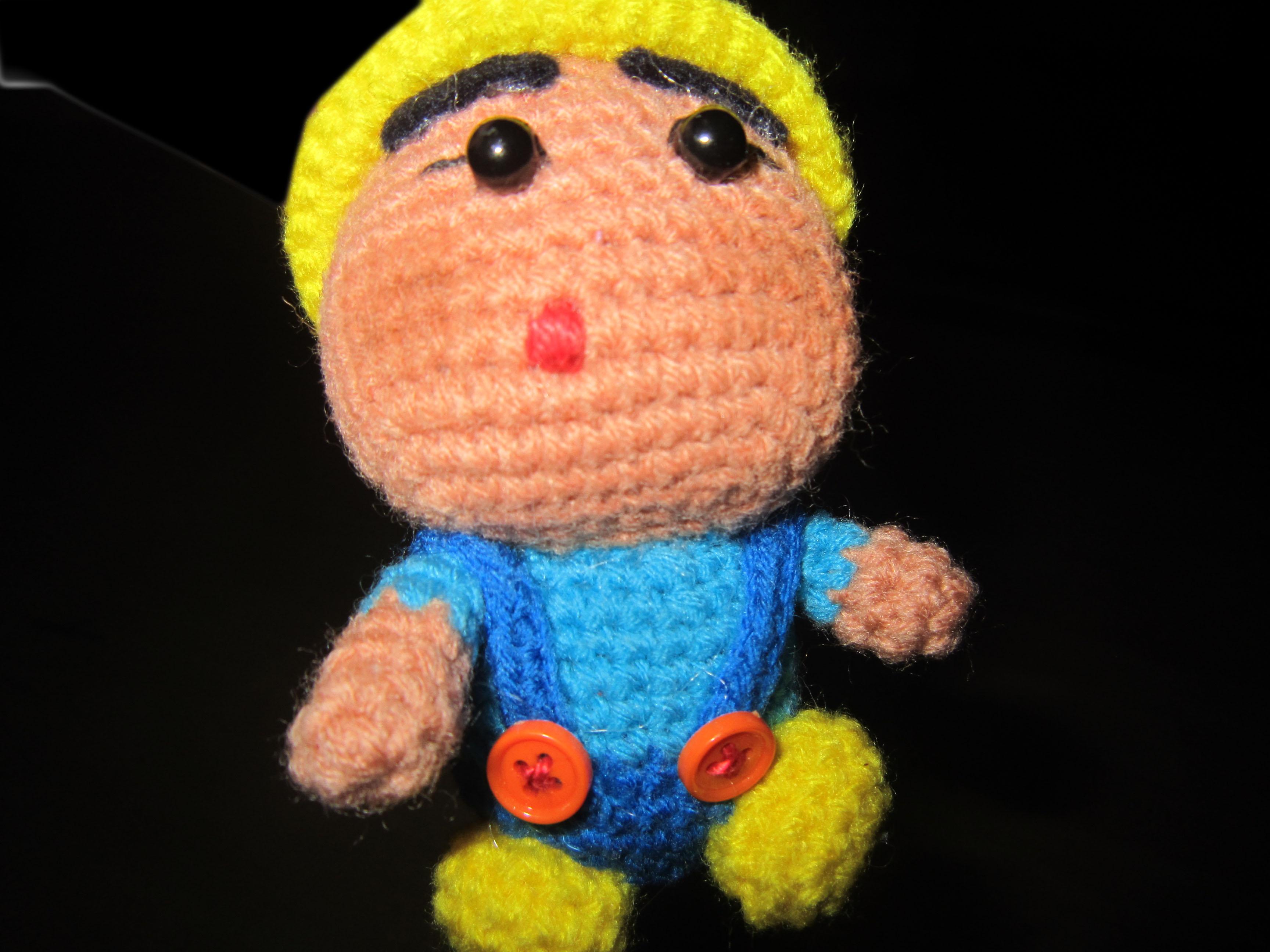 Crochet Doll Keyring-IMG_4367