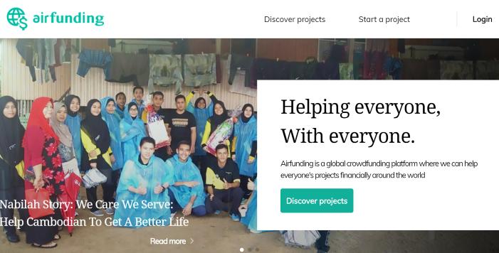 airtrip crowdfunding asia