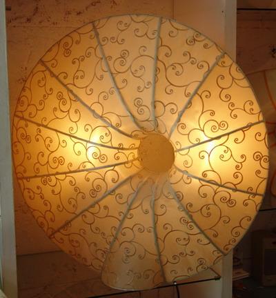 Silk Lamp donut detail