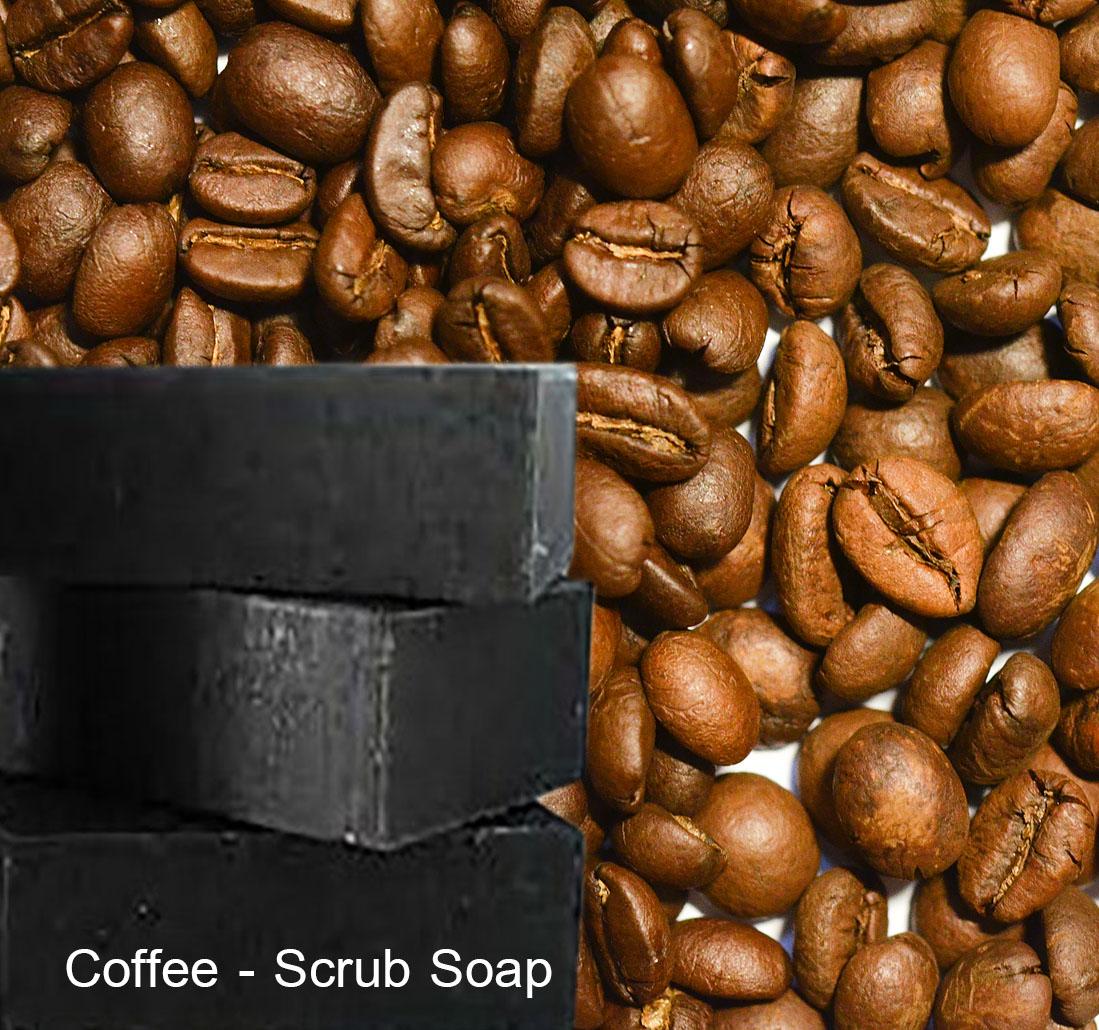 Coffee-Scrub Soap