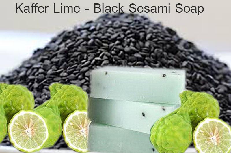 Kaffer Lime-Sesami Soap