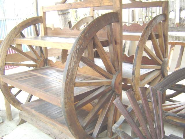 PS-Wood Shelf (sn326-2)