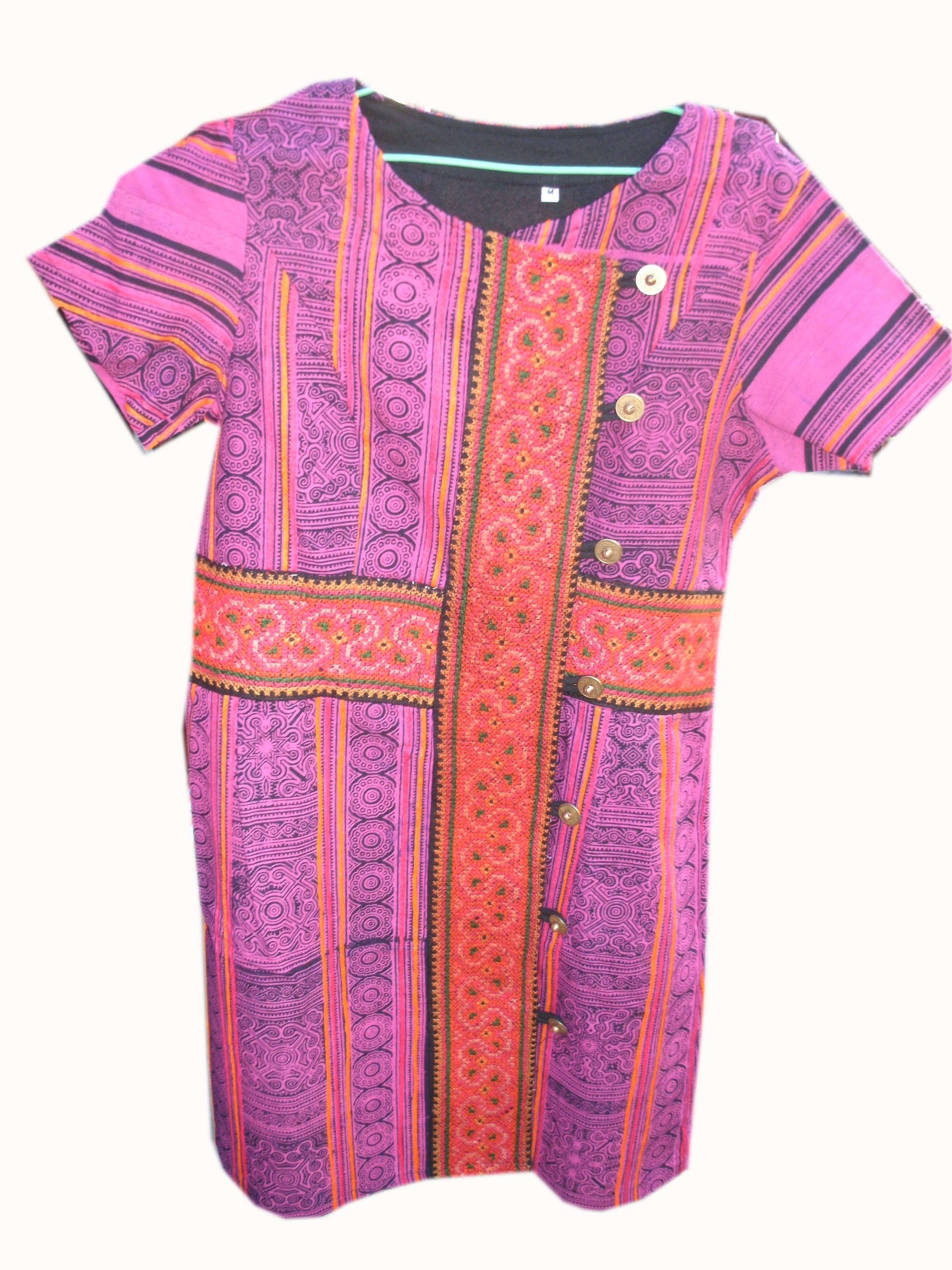 Tribal Pattern Dress-12