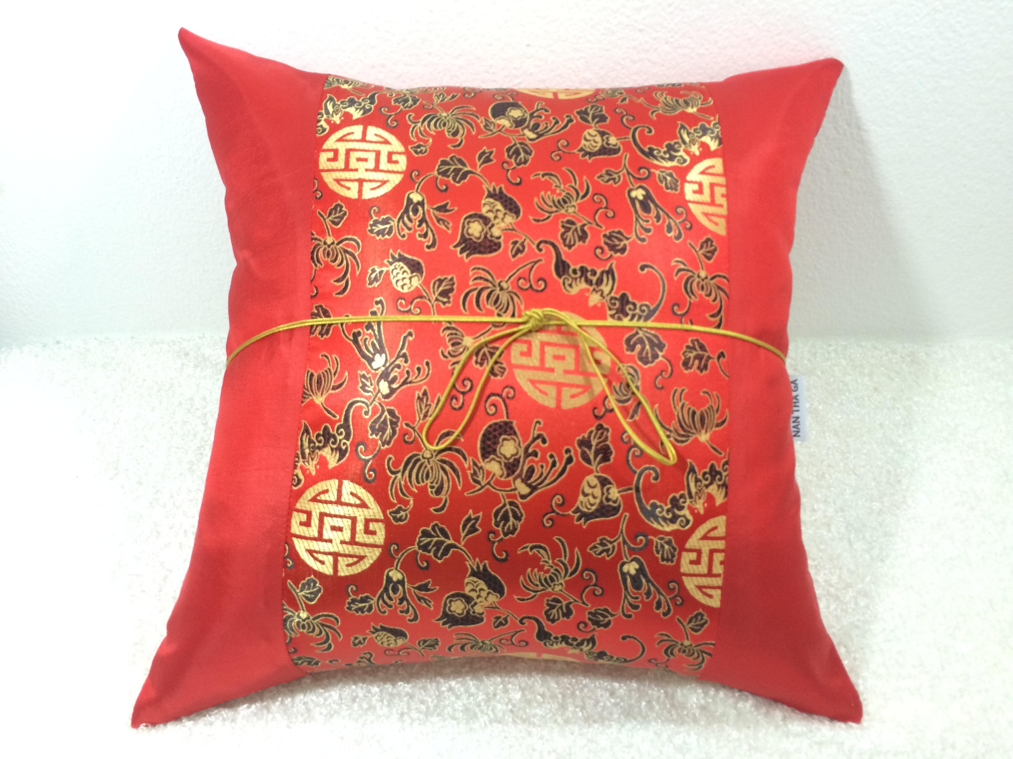 Silk Cushion Pillow Case-TL254