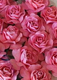 Mini paper rose