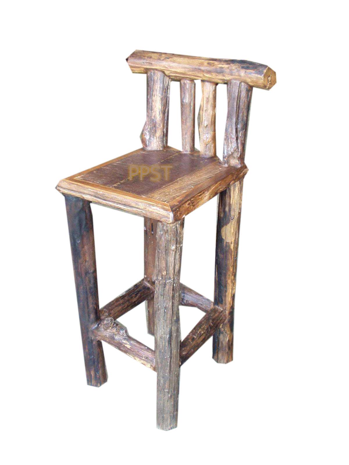 Antique stool-sn038