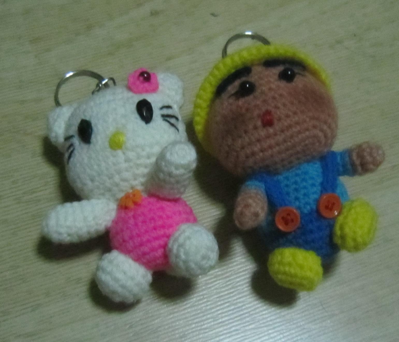 Crochet Doll Keyring-IMG_4365