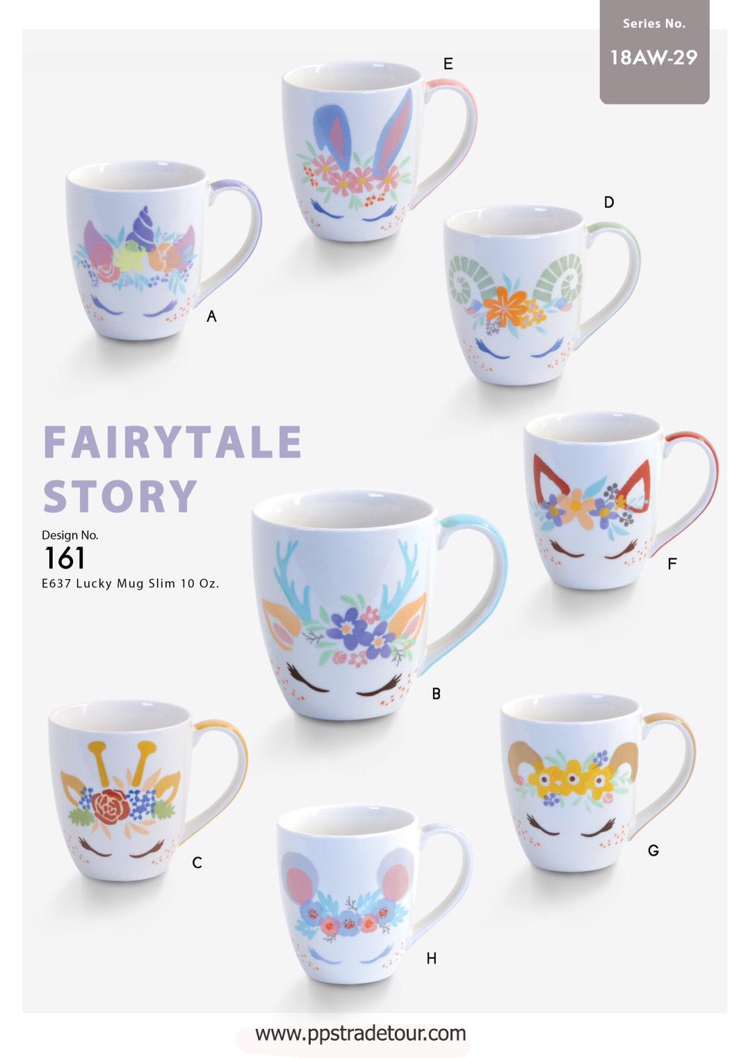 Fairytale Story-Ceramic Mug 10 Oz.