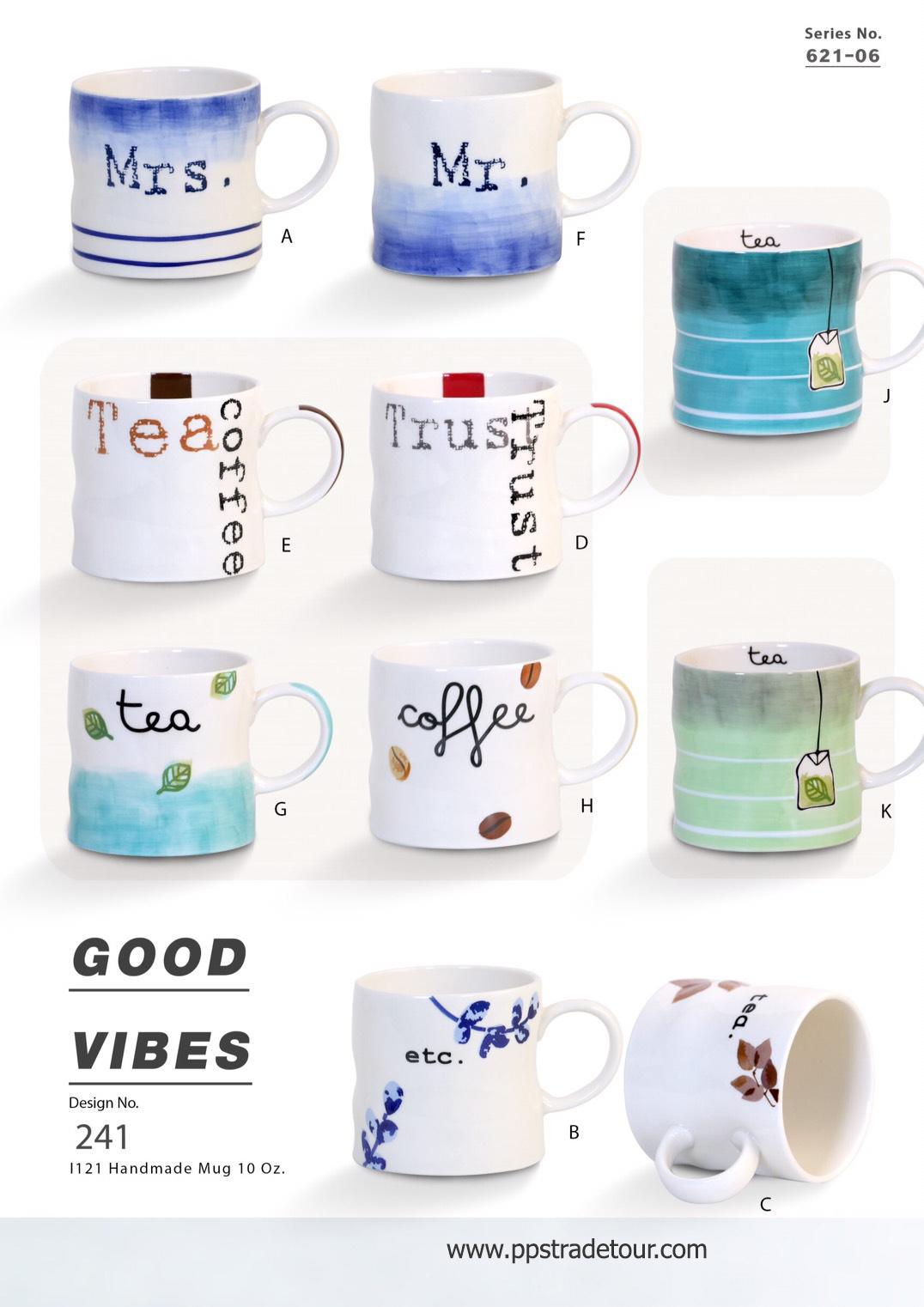 Good Vibes-Ceramic Mug 16 Oz.