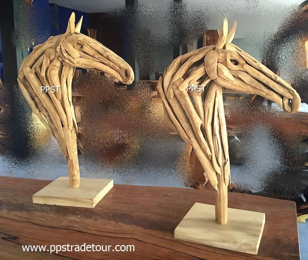 Driftwood Head Horse 27