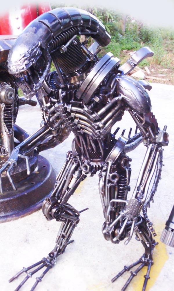 Recycle Metal Robot-38