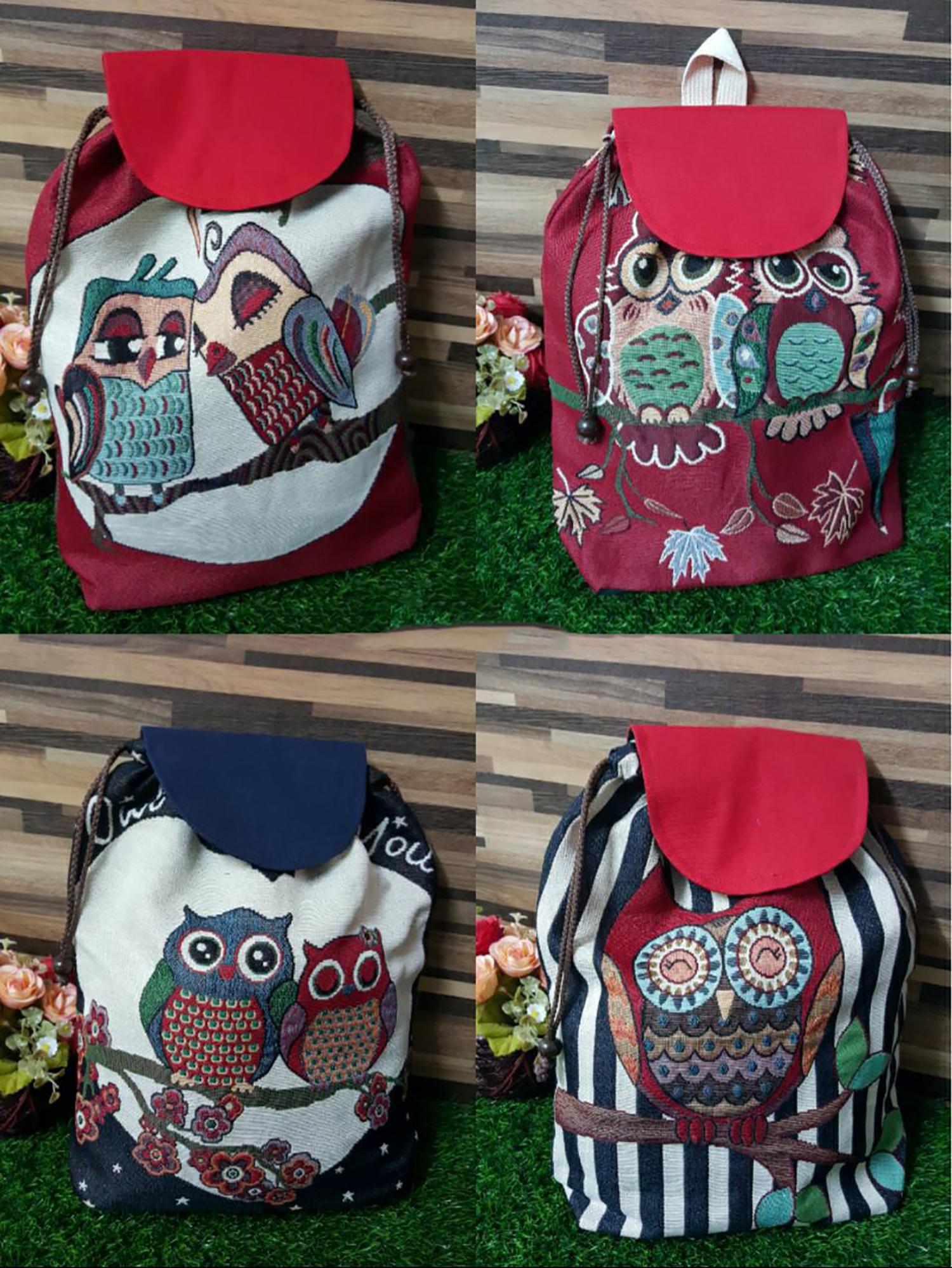 Owl Bag Pack 31 (pattern)