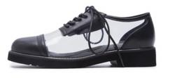 transparent PVC Shoes