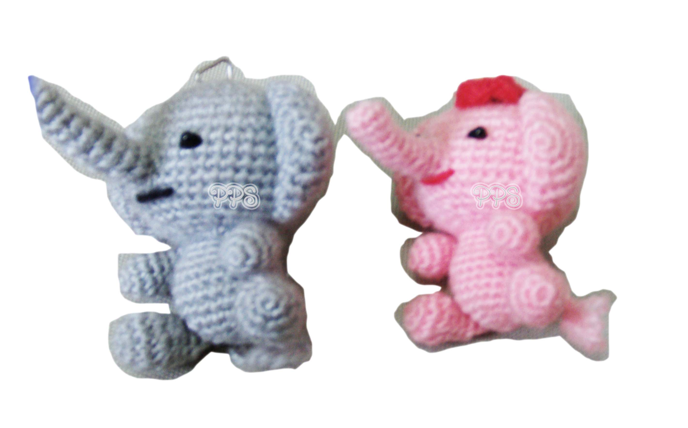 Crochet Doll Keyring-
