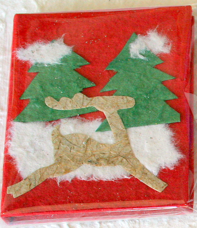 Mulberry Paper Christmas Card-2