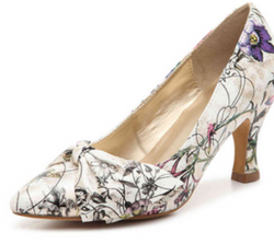 ow heel pump dress shoe