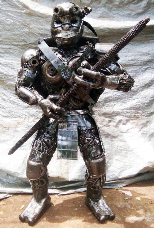 Recycle Metal Robot-32