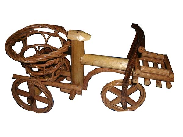 Rattan tricycle vast 0624-1
