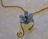 Orchid Pendant - SM-6