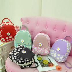 G007 women clear simple mini backpack for female designer backpacks famous brands with floral print