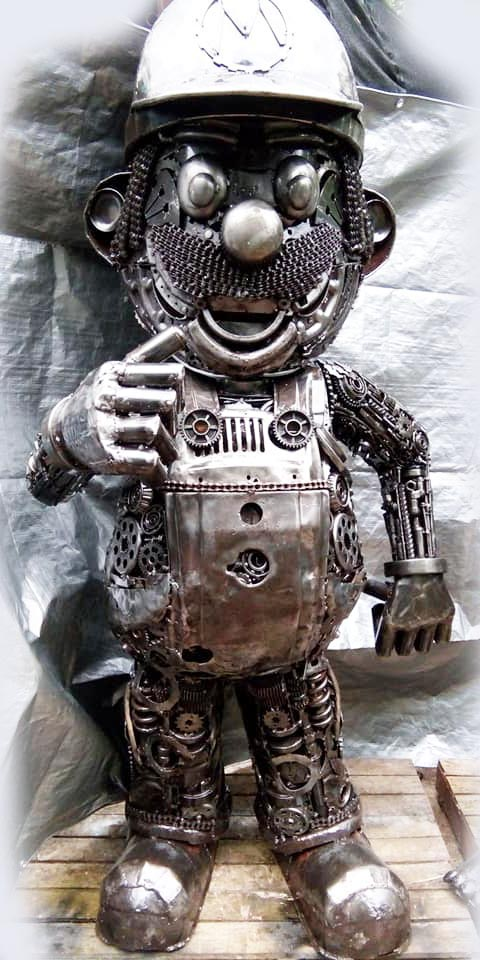 Recycle Metal Robot-22