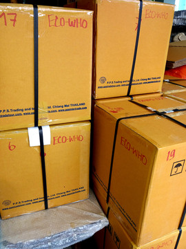 shipment south korea