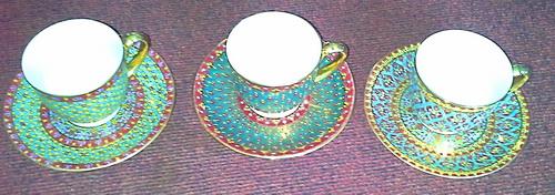 coffee cup set-9