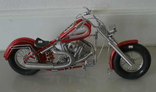 Wire Motorbike - Medium  Size