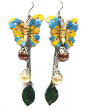 Leather Flower for Earring-e1