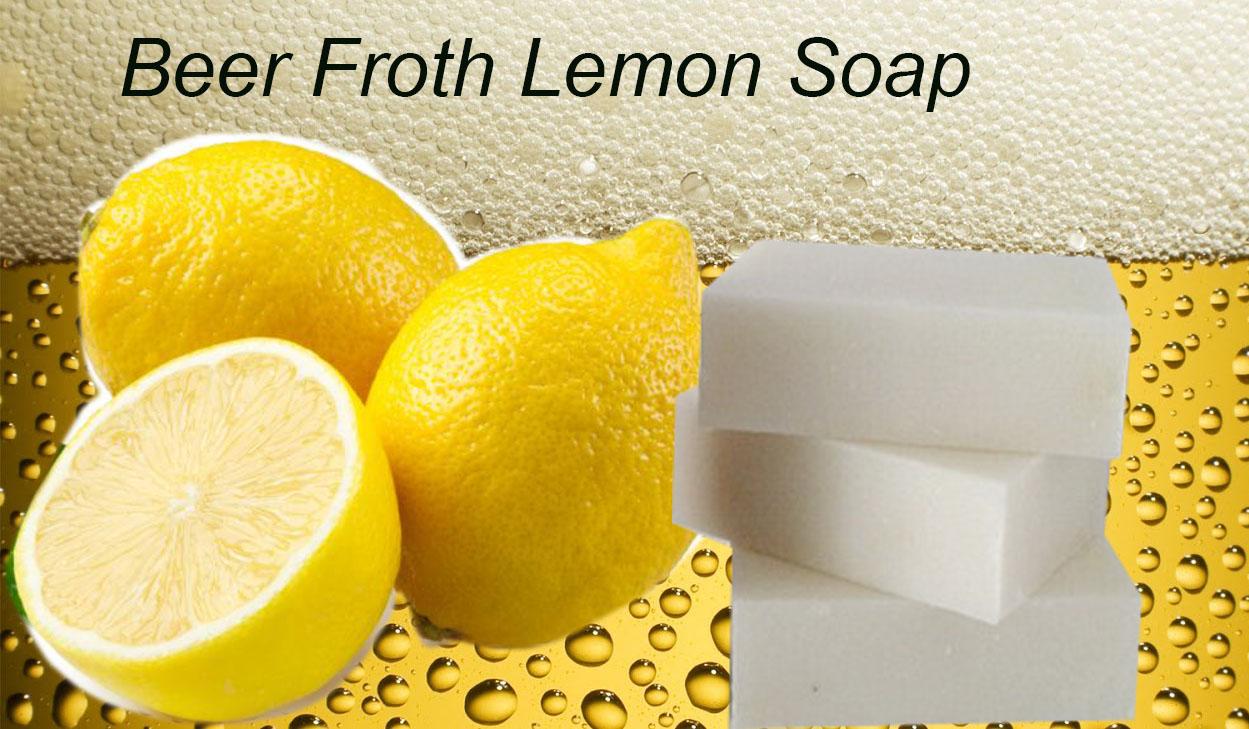 Froth Beer-Lemon Soap