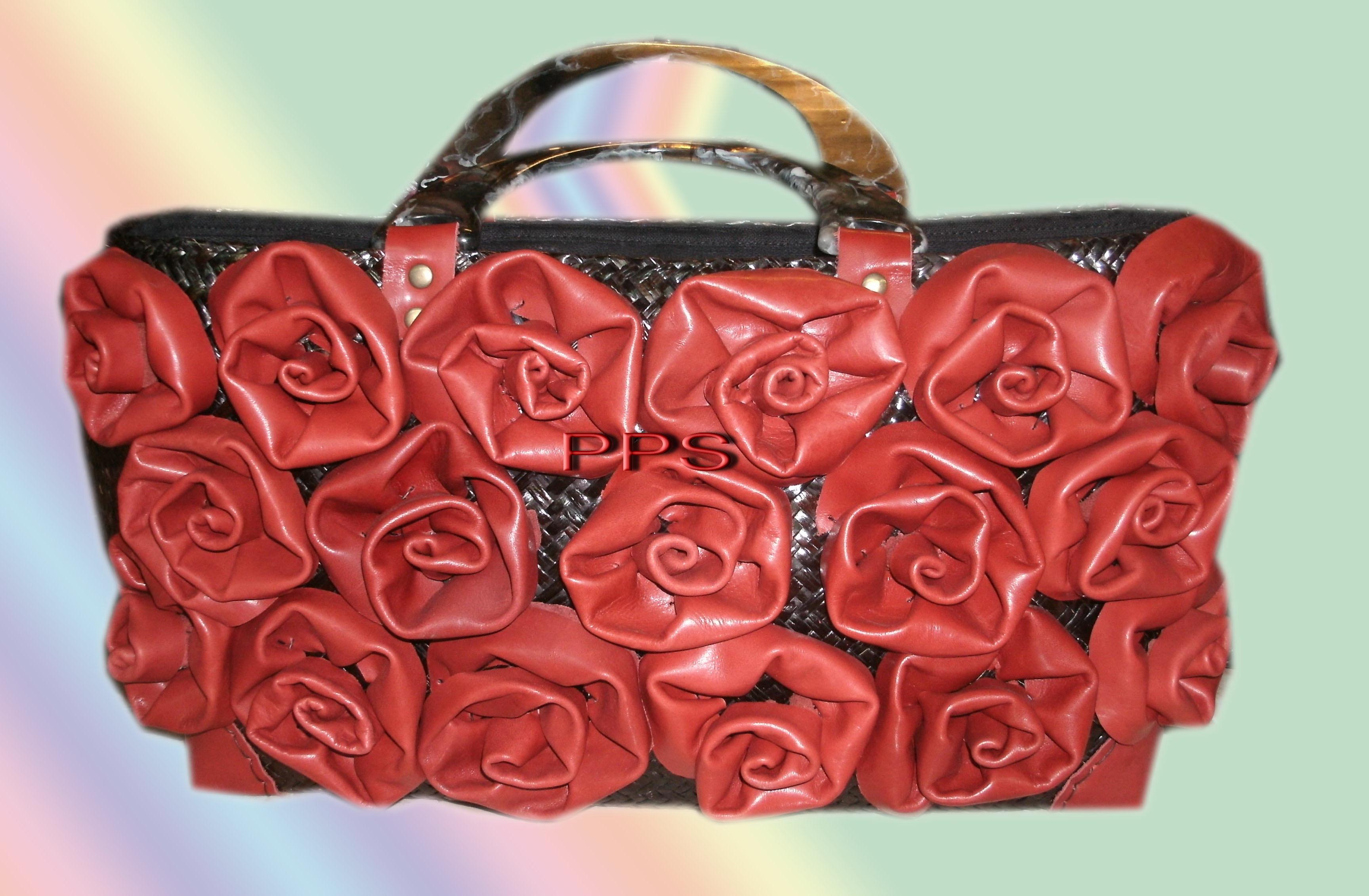 Seagrass and PU-Bag-PPS bag brand