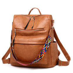 New Products High Quality Women Daily Casual Backpack Shopping Travel Handbags D71404