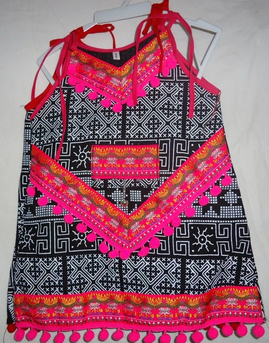 Children Tribal Pattern Dress