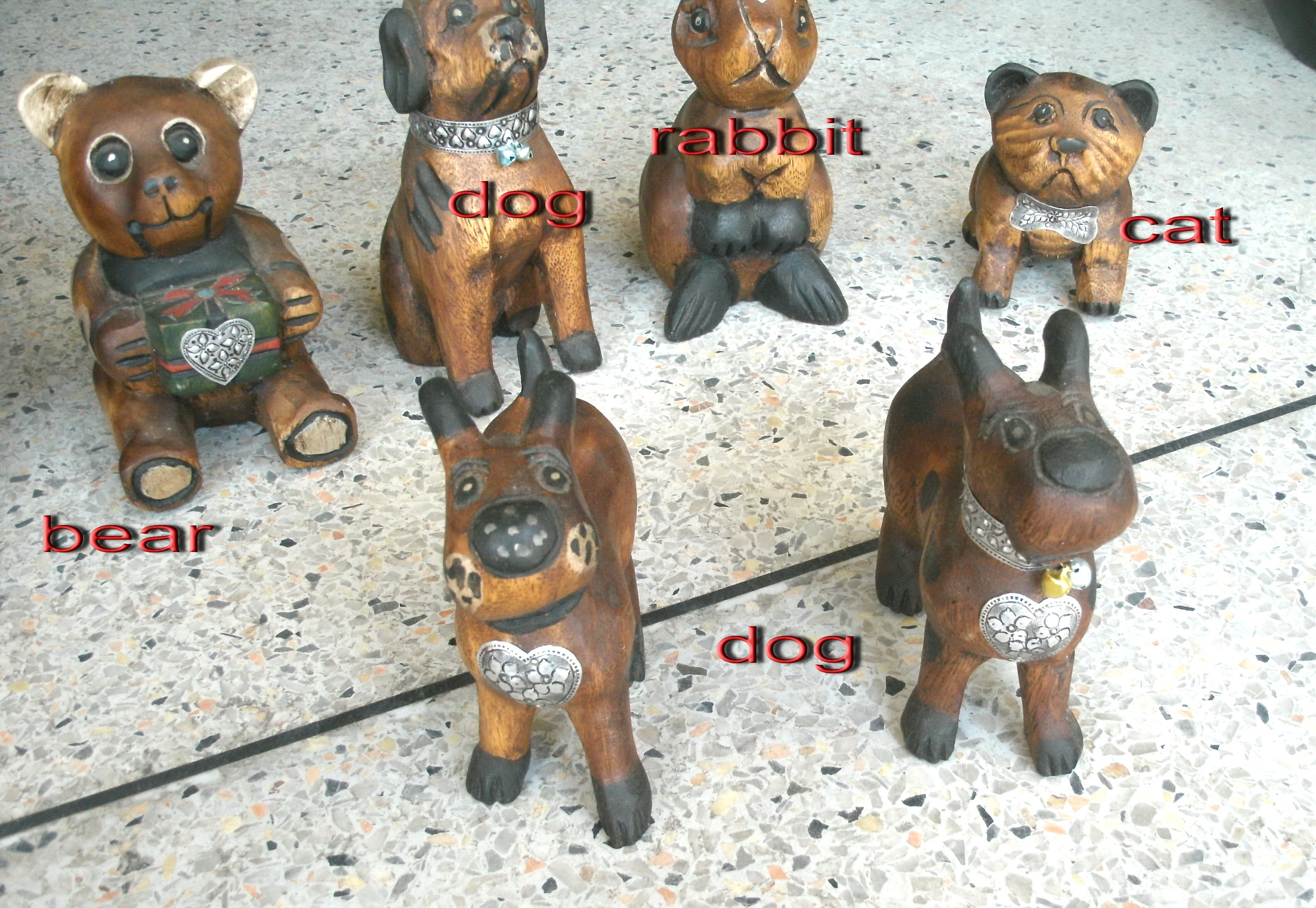Mix Wood Dogs