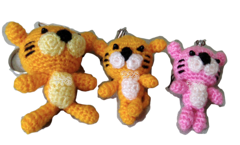 Crochet Doll Keyring-IMG_3571