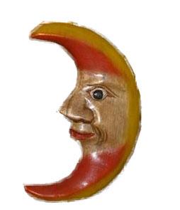 Wood Moon-Sun