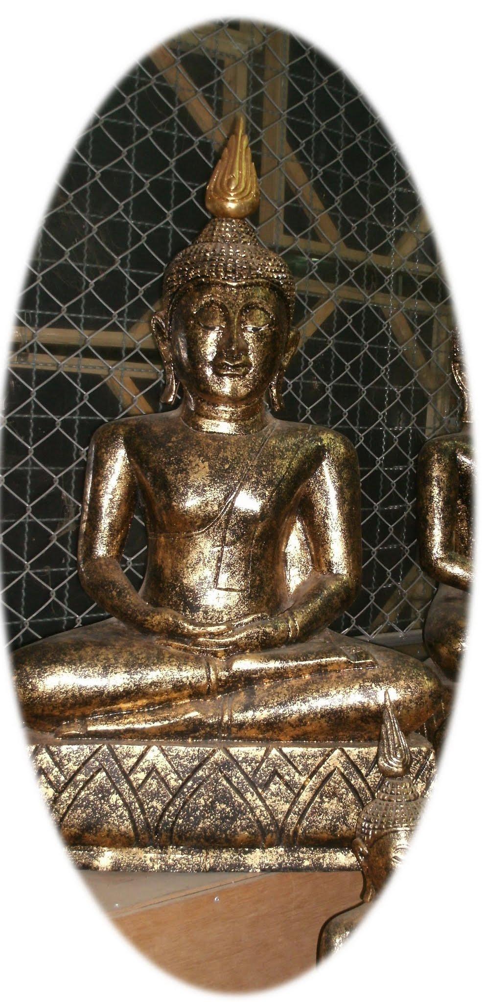 Wood Buddha Image C4493-1