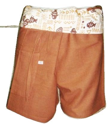 Short Cotton Trouser-B6
