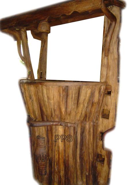 PS-Wood Shelf (sn303)