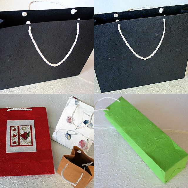 Mulberry Paper Bags