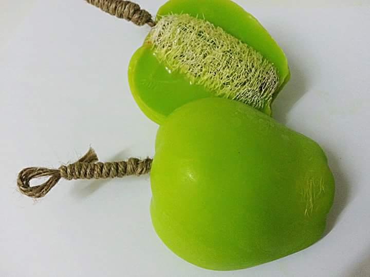 bathing soap in Fruit shape